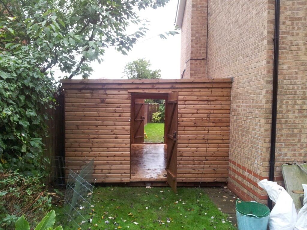 Lean to shed and workshop apex timber buildings for Brick garden shed designs