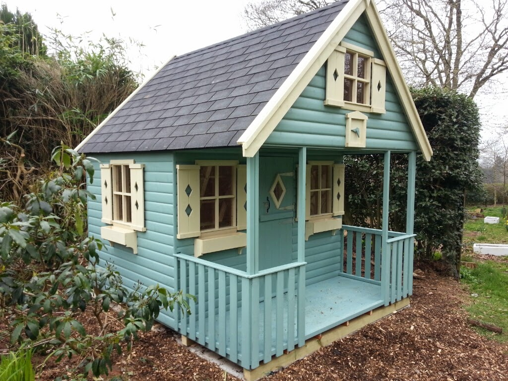 Children s playhouses apex timber buildings for Kids wooden play house
