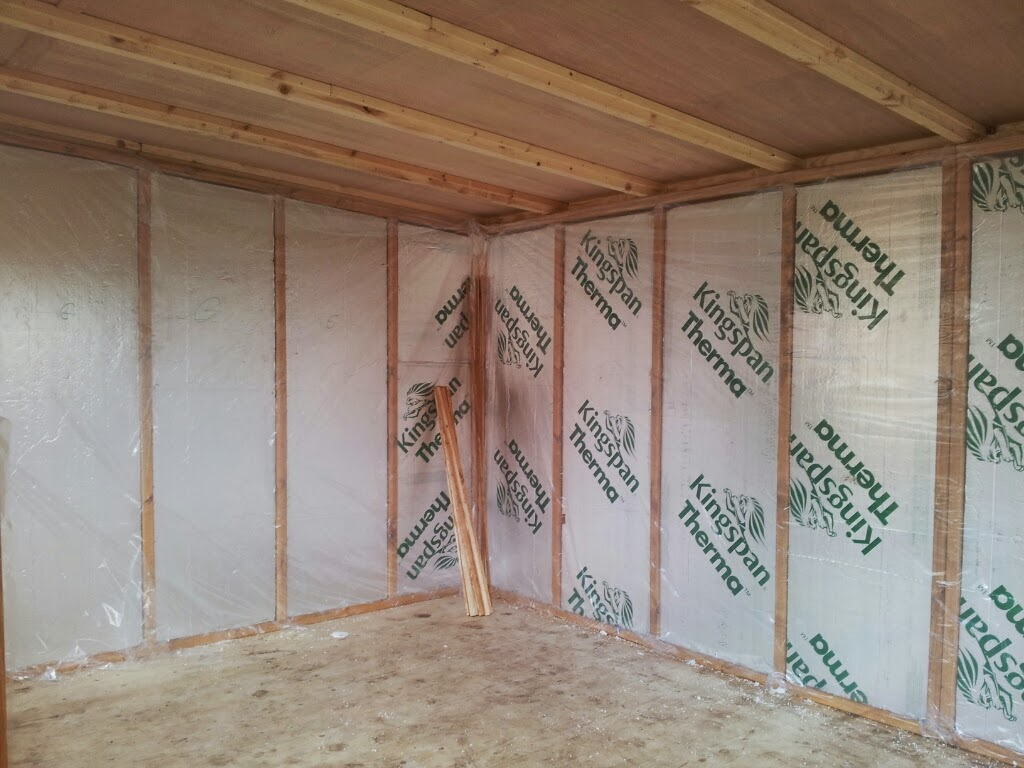 Internal Cladding Insulation Apex Timber Buildings