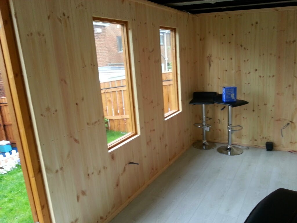 running home office. This Home Office Was Internally Clad With Vertically Running Tongue And Groove Shiplap. L
