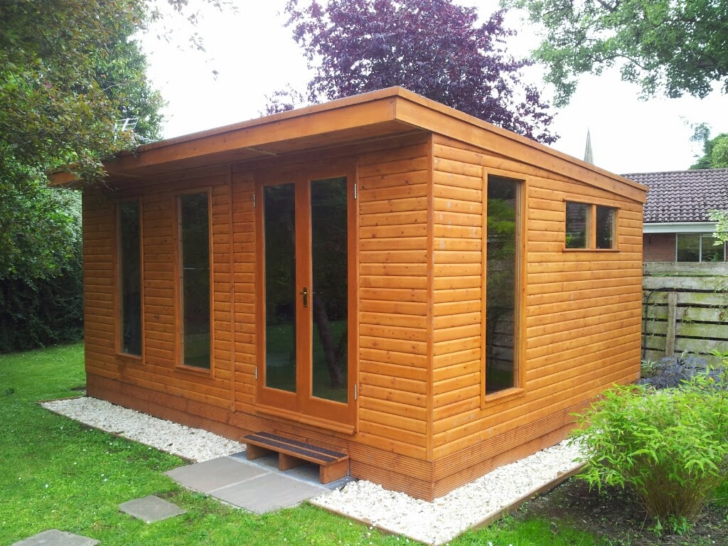 home office built by Apex Timber Buildings