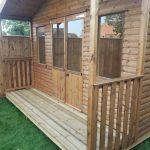 apex roof garden room