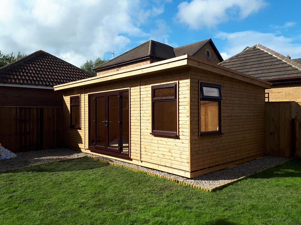 Home Office Apex Timber Buildings